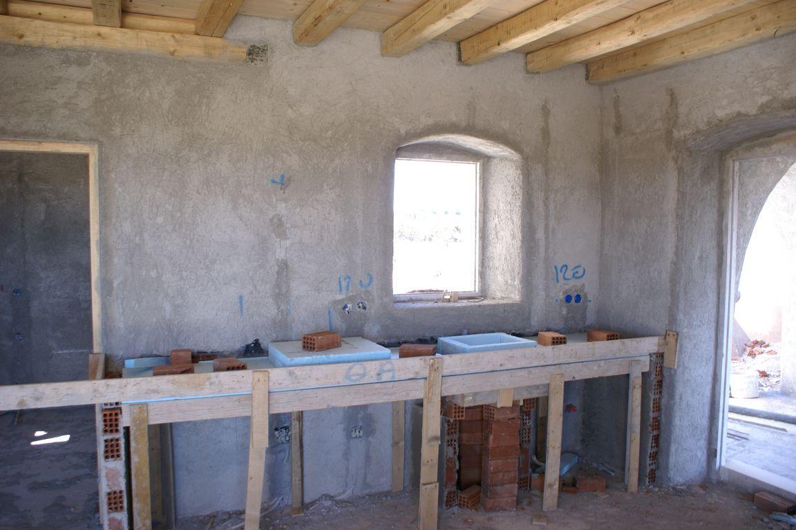 De bouw van ons guesthouse xenonas fos ke choros op kythira - Traditionele keukens ...