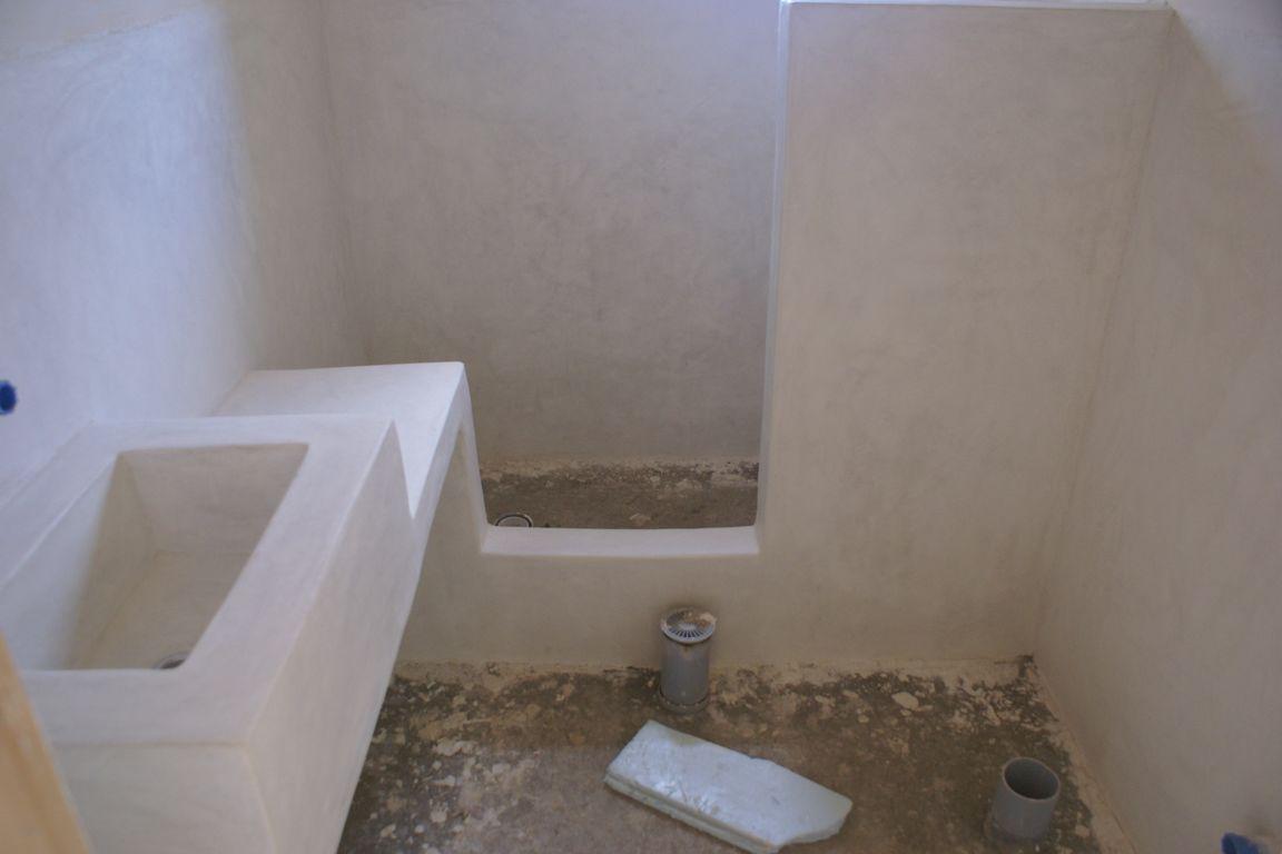Badkamer Plafond Pleisteren